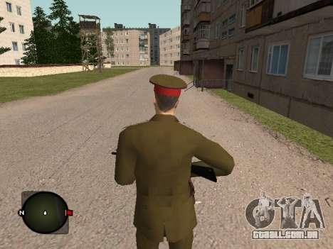 Major-General do exército russo para GTA San Andreas terceira tela