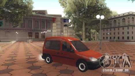 Opel Combo para GTA San Andreas esquerda vista