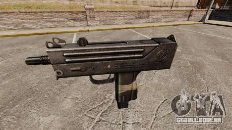 Submetralhadora Ingram MAC-10 para GTA 4 terceira tela