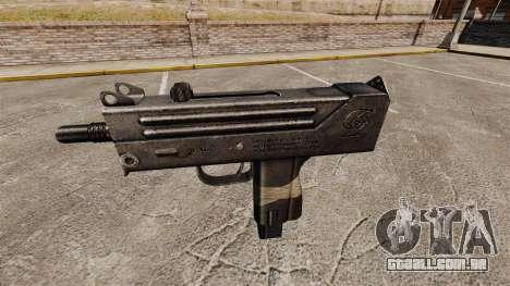 Submetralhadora Ingram MAC-10 para GTA 4 terceira tela