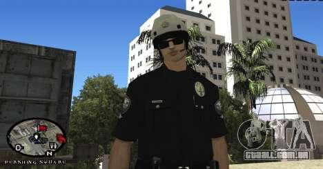 Los Angeles Air Support Division Pilot para GTA San Andreas por diante tela