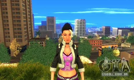 Shaundi From Saints Row Third para GTA San Andreas terceira tela