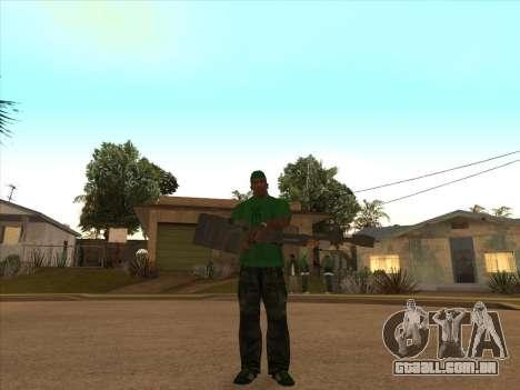 KORD para GTA San Andreas por diante tela