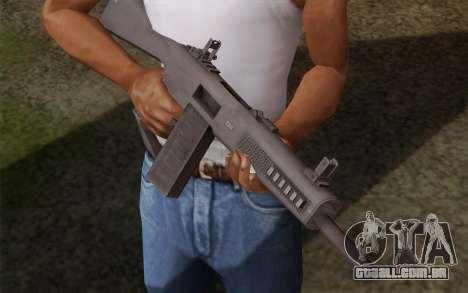 A shotgun AA-12 para GTA San Andreas segunda tela