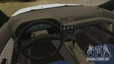 Nissan Skyline GT-R (R32) para GTA 4 vista interior
