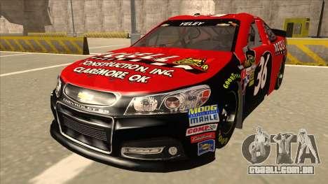 Chevrolet SS NASCAR No. 36 Accell para GTA San Andreas