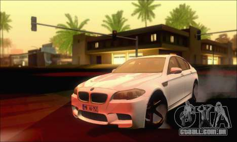 BMW M5 Vossen para GTA San Andreas