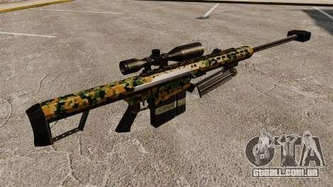 O Barrett M82 sniper rifle v13 para GTA 4 segundo screenshot