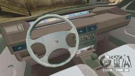 Fiat Tempra SX.A para GTA 4 vista interior