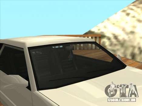 Blista Compact para GTA San Andreas vista direita