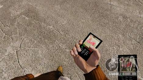 Temas para barras de chocolate de telefone para GTA 4 por diante tela