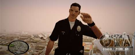 Los Angeles Police Officer para GTA San Andreas segunda tela