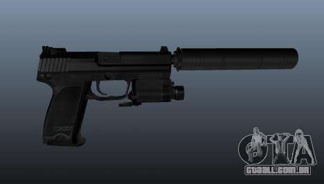 Pistola HK USP 45 para GTA 4 terceira tela