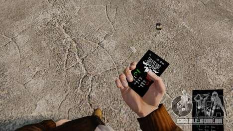 Temas de Goth Rock para o seu celular para GTA 4 nono tela
