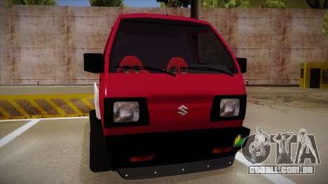 Suzuki Carry Drift Style para GTA San Andreas esquerda vista