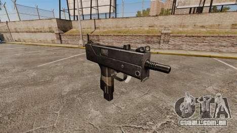 Submetralhadora Ingram MAC-10 para GTA 4