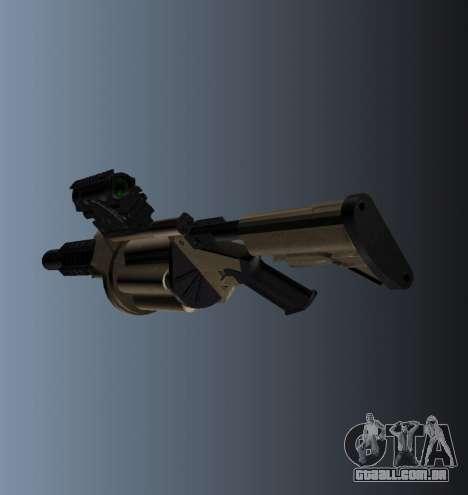 Lançador de granadas MGL-MK1 para GTA 4 segundo screenshot