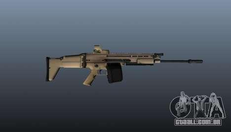 FN SCAR-H metralhadora LMG para GTA 4 terceira tela
