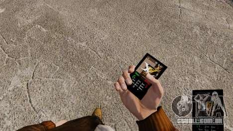 Temas para roupas de marcas de telefones para GTA 4 por diante tela