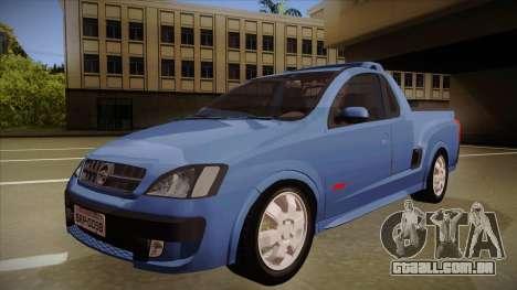 Chevrolet Montana Sport 2008 para GTA San Andreas