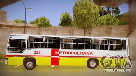 Caio Vitoria MB OF 1318 Metropolitana para GTA San Andreas esquerda vista