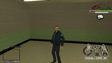 Polícia de San Angeles Pak peles para GTA San Andreas sétima tela