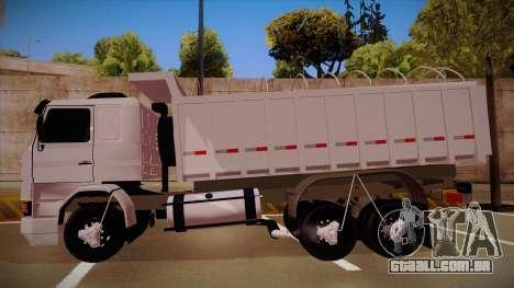 Scania 113H Frontal estaca BETA para GTA San Andreas esquerda vista