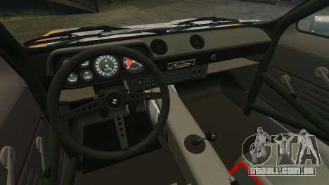 Ford Escort Mk1 Rust Rod para GTA 4 vista de volta
