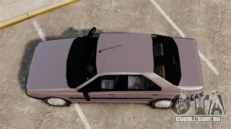 Peugeot 405 GLX para GTA 4 vista direita