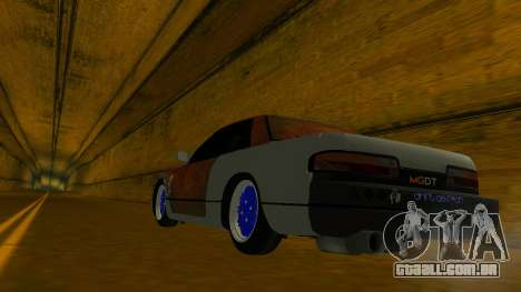 Nissan Silvia S13 MGDT para GTA San Andreas vista interior
