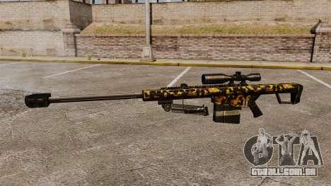 O Barrett M82 sniper rifle v11 para GTA 4 terceira tela