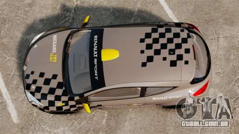 Renault Megane RS N4 para GTA 4 vista direita