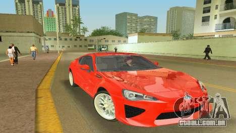 Subaru BRZ Type 2 para GTA Vice City