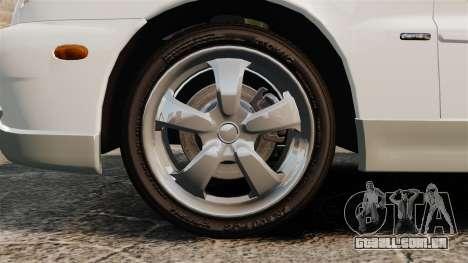 Daewoo Lanos GTI 1999 Concept para GTA 4 vista de volta
