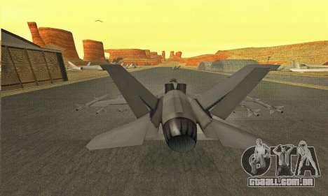 Hydra GTA V para GTA San Andreas vista direita