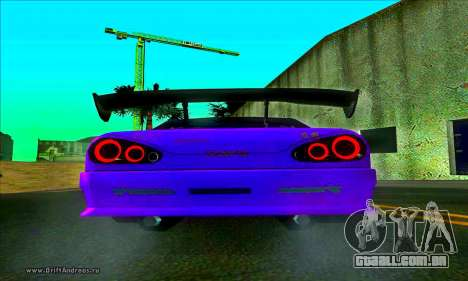 Elegy DC v2 para GTA San Andreas traseira esquerda vista