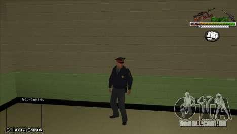 Polícia de San Angeles Pak peles para GTA San Andreas terceira tela