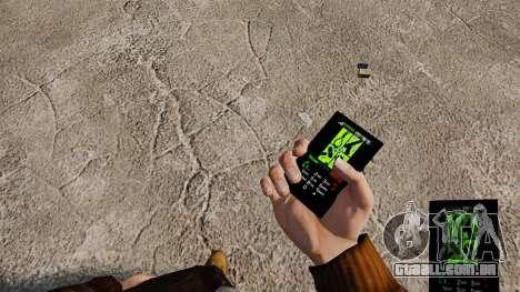 Temas de Goth Rock para o seu celular para GTA 4 terceira tela