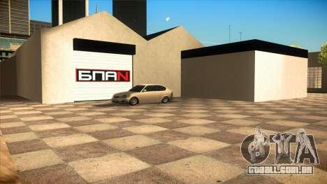 A garagem em Doherty BPAN v 1.1 para GTA San Andreas terceira tela
