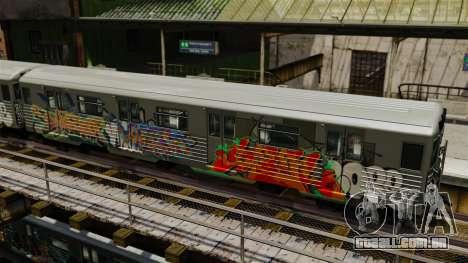 Novo graffiti em v1 o metro para GTA 4 segundo screenshot