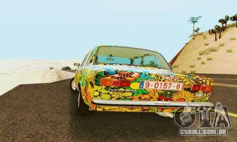 VAZ 21011 Hippie para GTA San Andreas vista interior