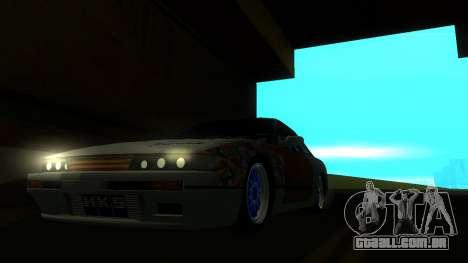 Nissan Silvia S13 MGDT para GTA San Andreas vista direita