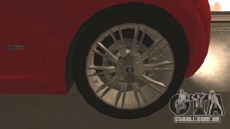Fiat Grande Punto para GTA San Andreas vista inferior