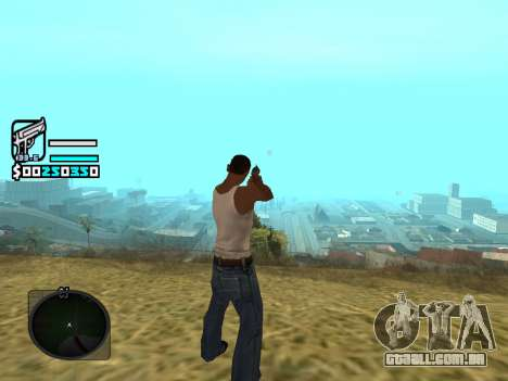 Hud by Larry para GTA San Andreas segunda tela