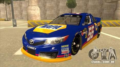 Toyota Camry NASCAR No. 56 NAPA para GTA San Andreas