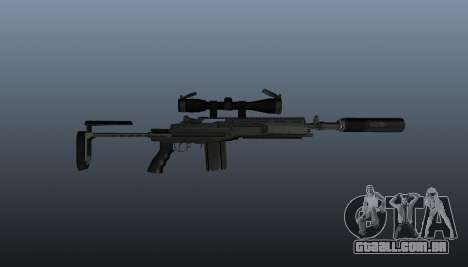 Automatic rifle M14 EBR v1 para GTA 4 terceira tela