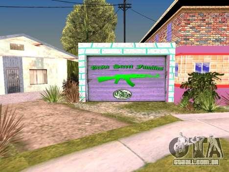 Textura de Karl House para GTA San Andreas por diante tela