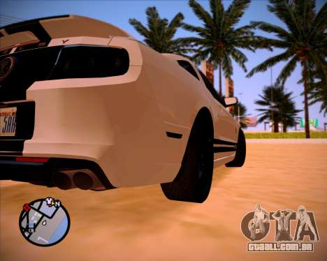 SA Graphics HD v 1.0 para GTA San Andreas décimo tela