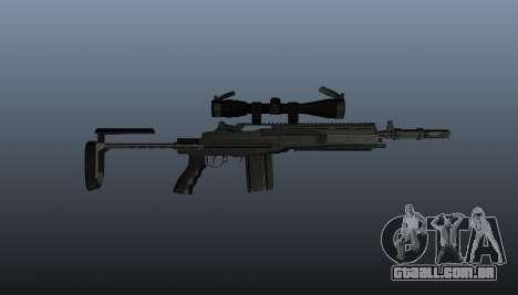 Automatic rifle M14 EBR v2 para GTA 4 terceira tela