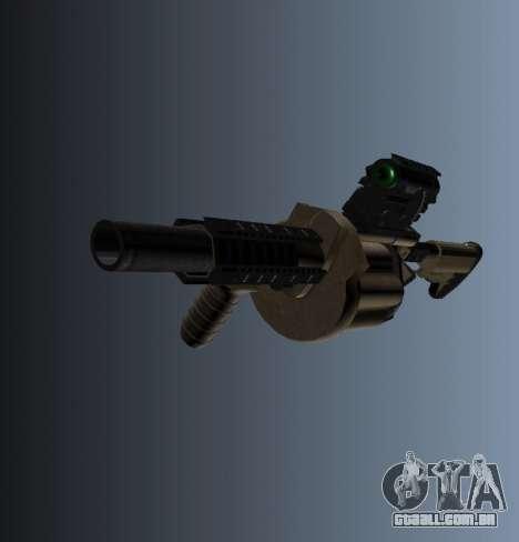 Lançador de granadas MGL-MK1 para GTA 4